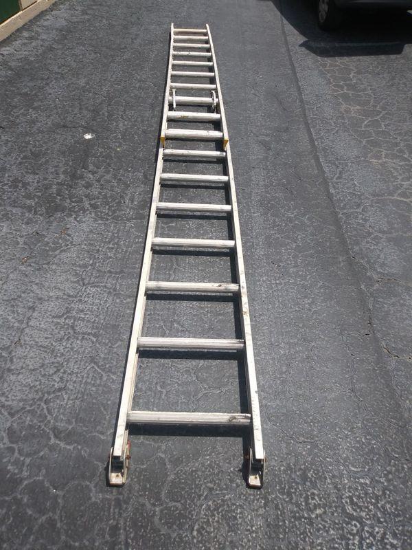 20'ft adjustable ladder