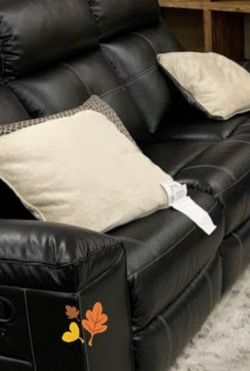In Stock Ashley Kempten Black Reclining Sofa And Loveseat for Sale in Hyattsville,  MD