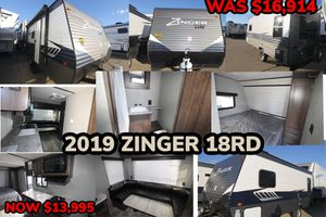 END OF THE YEAR CLEARANCE SALE!! 2019 ZINGER 18RD for Sale in Mesquite, TX