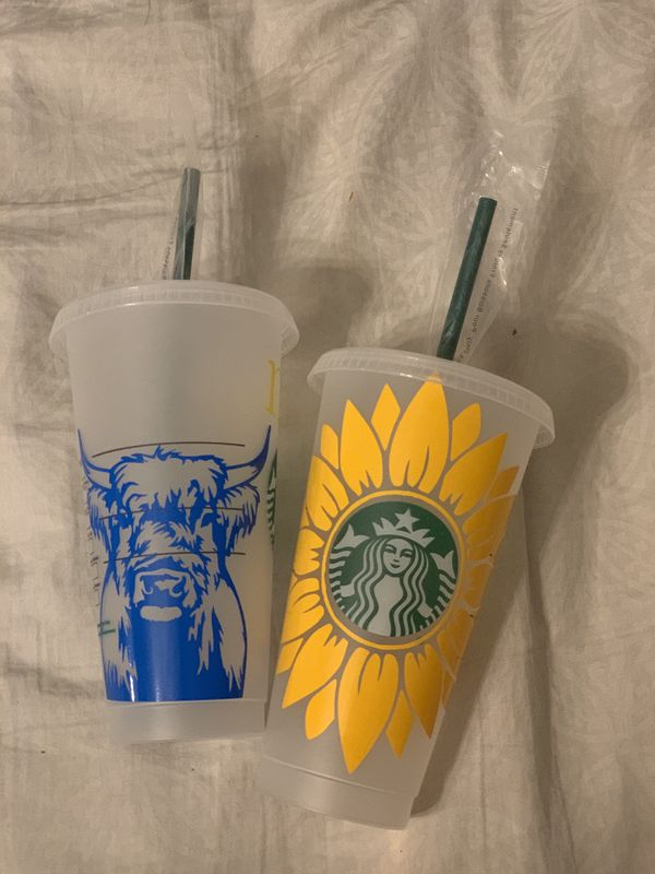 Custome Starbucks cups for sale