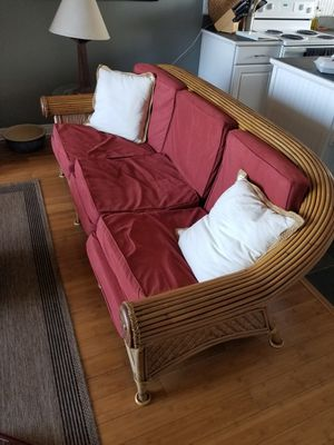 Wicker Couch for Sale in Kailua-Kona, HI