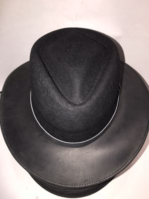 "The ""diamond "" genuine leather and real wool adjustable made in the USA hat for Sale in Anaheim, CA"