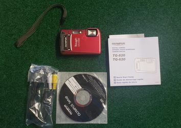Olympus Tough TG-820 iHS 12.0MP Digital Camera - Red for Sale in Casselberry,  FL