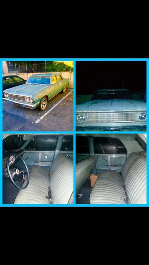 1964 Chevy Malibu 4 door for Sale in Rosemead, CA