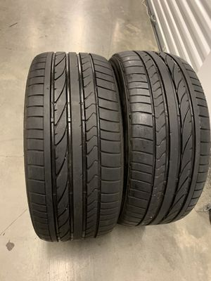245 40 19 Bridgestone run flat 2 tires for Sale in Manassas, VA