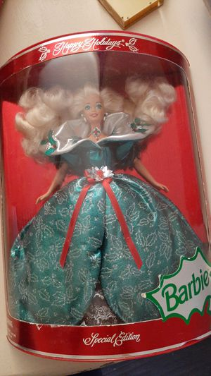 holiday barbie for Sale in Moreno Valley, CA