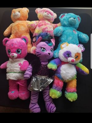 Build a Bear Plus Shopkins Rainbow Cupcake & Mor Bundle for Sale in Capitol Heights, MD