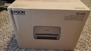 NEW Epson ds-530 document scanner for Sale in St. Peters, MO