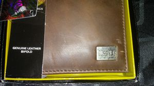 LSU brown leather wallet, brand new for Sale in Lumberton, TX