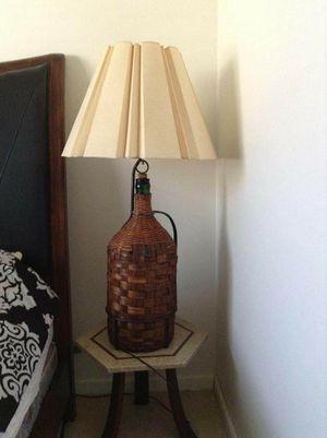 Vintage Bottle Lamps (Set of 2) for Sale in Chatham, NJ