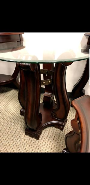 glass top END tables NIB 2 total tables for Sale in Houston, TX