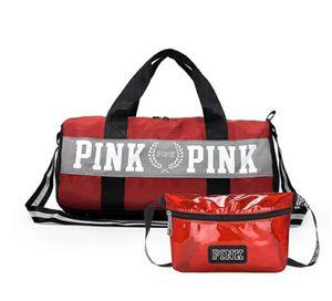 Pink Duffle bag and fanny pack for Sale in Atlanta, GA