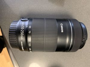 Canon EF 55-250mm Lens for Sale in Alexandria, VA