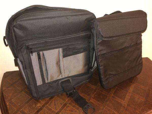 Unused laptop bag backpack case