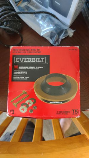 Everbilt reinforced wax ring seal, no hardware FREE for Sale in Garden Grove, CA