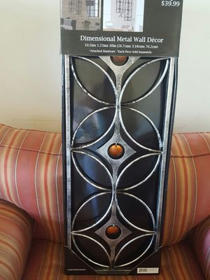 Metal Wall Decor NIB*** for Sale in Cleveland, OH