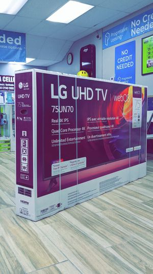 LG 75 inch - UN7070 Series - LED 4K UHD - Smart webOS TV! Brand New in Box! One Year Warranty! for Sale in Arlington, TX