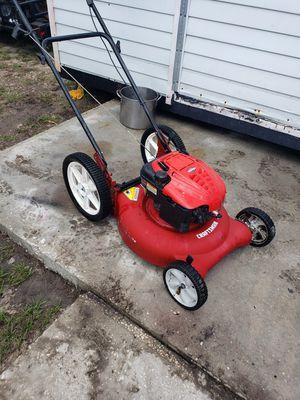 Craftsman big wheel push lawn mower for Sale in New Port Richey, FL