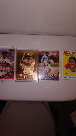 Rare baseball cards for Sale in Laveen Village, AZ