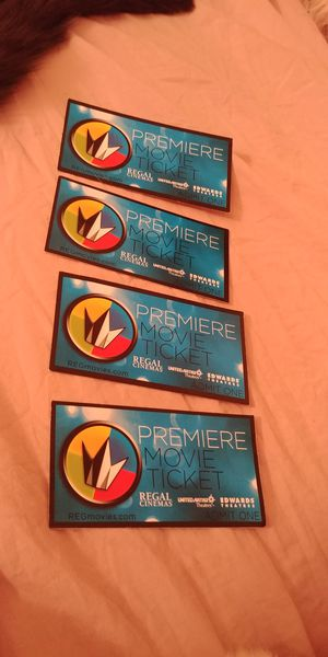 Movie tickets when they open again! for Sale in Milwaukie, OR