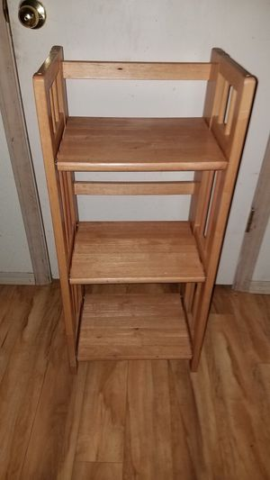 small wood folding shelf for Sale in Portland, OR