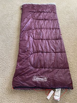 Coleman Alpine 50 Degree Sleeping Bag for Sale in Sanford, FL