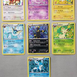 Eevee Evolution Pokemon Card Holo for Sale in West Palm Beach, FL