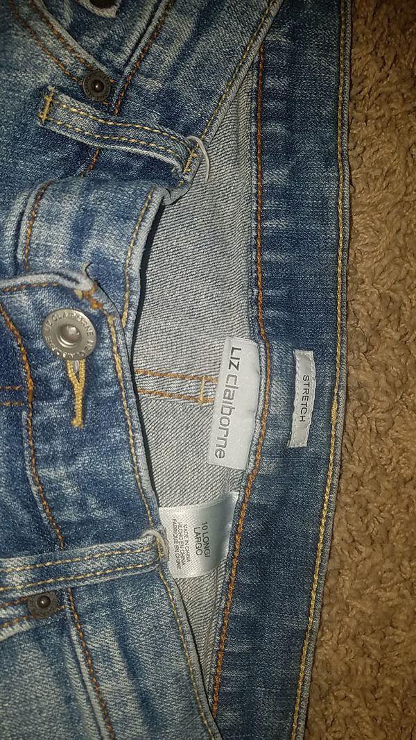 Lot of 4 nice pants all size 10 jeans