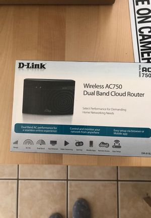 D-Link router for Sale in Chula Vista, CA