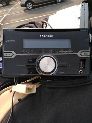 Pioneer double din receiver for Sale in Boulder, CO