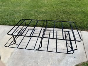 Twin size folding bed frame with mattress for Sale in Canyon Country, CA