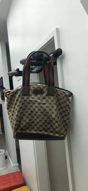 Gucci canvas tote bag for Sale in Seattle, WA