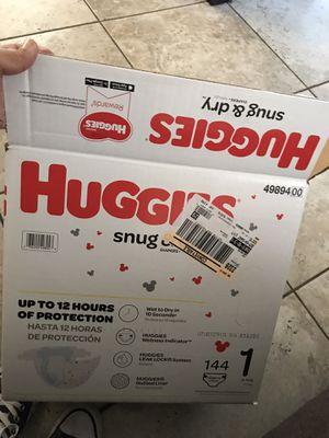 Huggies Size 1 for Sale in Wilmington, CA