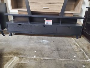 TV Stand for TVs up to 70 inch, Black for Sale in Santa Fe Springs, CA