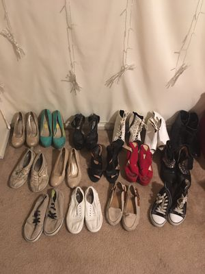 Size 5.5/6 Woman's shoes (15) for Sale in Claremont, CA