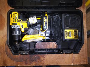 (New) Dewalt 20 volt Bluetooth drill, new battery, and charger. for Sale in Harrisburg, PA