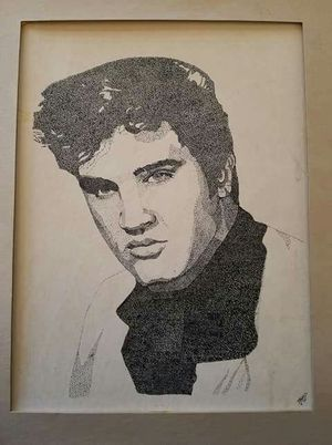 Elvis drawing for Sale in Payson, AZ