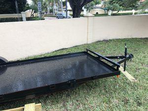 20' steel deck car haulers car trailer steel deck 2019 trailers equipment trailer dump trailer for Sale in Miramar, FL
