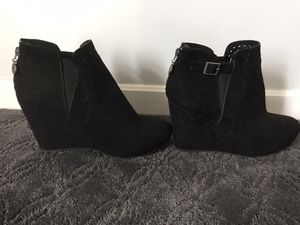 High Heel Wedges Size 9 WIDE! for Sale in Cleveland, OH
