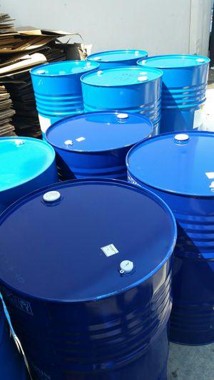 55 gallon metal drum $15 each for Sale in San Gabriel, CA