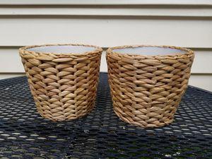 2 Indoor plant pots for Sale in Rockville, MD