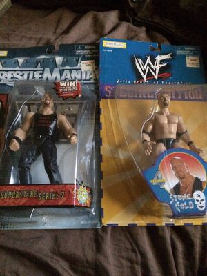 Stone cold Steve Austin action figurines for Sale in Fresno, CA