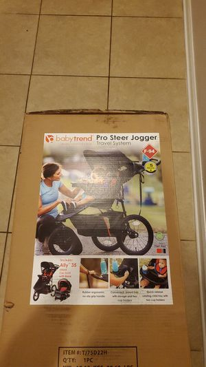 Baby trend Pro Steer Jogger for Sale in Grand Island, FL