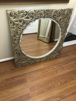 Wooden antique Gold Mirror for Sale in Reisterstown,  MD