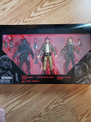 "New Star Wars ""Black Series "" Action Figures. for Sale in Apopka, FL"