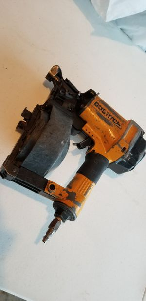 Bostitch roofing nail gun- air coil gun for Sale in Streamwood, IL