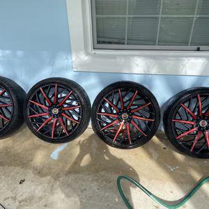 Revolution Racing Rims $1000 OBO for Sale in Pompano Beach, FL
