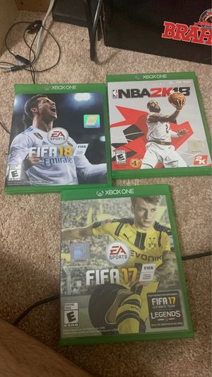 Xbox one games for Sale in Raleigh, NC