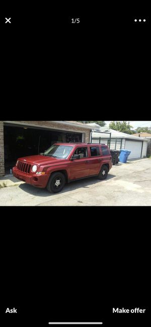 Jeep Patriot 2008 for Sale in Chicago, IL