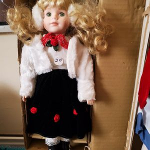 New Porcelain Collector Doll for Sale in West Palm Beach, FL